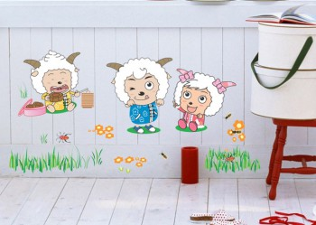 Decoracion dormitorio de bebe tematica oveja