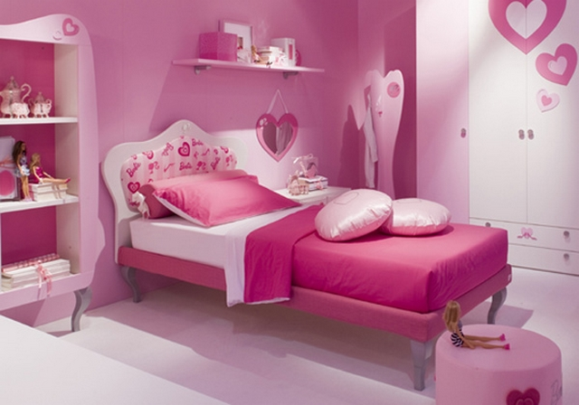 Decorar dormitorio infantil tematica Barbie 3