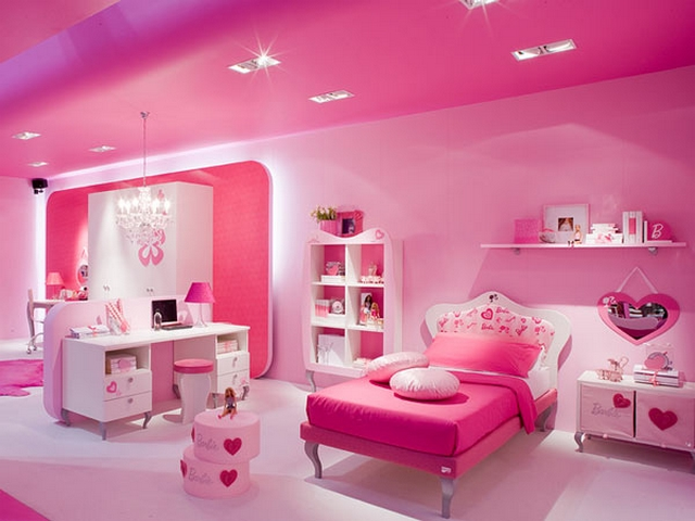 Decorar dormitorio infantil tematica Barbie 4