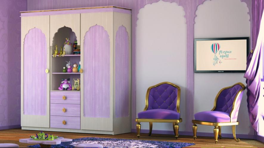 Dormitorio infantil estilo arabe Aladino 2