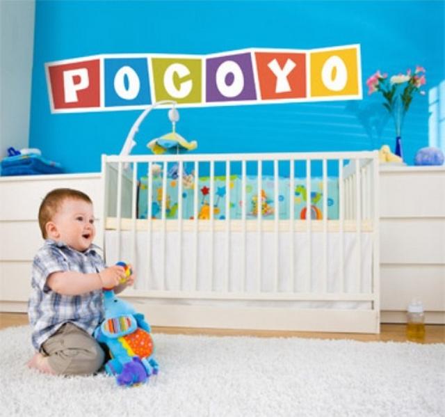 Dormitorio infantil tematica Pocoyo 2