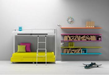 Dormitorios compartidos minimalistas