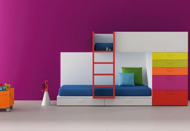 Dormitorios compartidos minimalistas 4