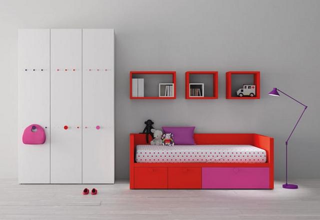 Dormitorios compartidos minimalistas 5