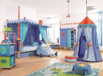 Dormitorios Para Ninos Varones Tematica Caballeros - Decoracion-de-dormitorios-de-nios