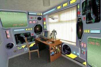 Habitación infantil tematica Enterprise Star Trek