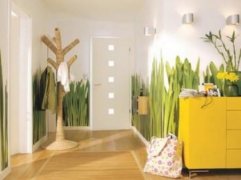 Idea para decorar recibidor con frescura y naturalidad