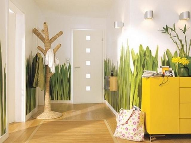 Idea para decorar recibidor con frescura y naturalidad for Decoracion para entradas recibidores