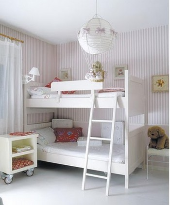 Ideas de decoracion infantil en blanco 1