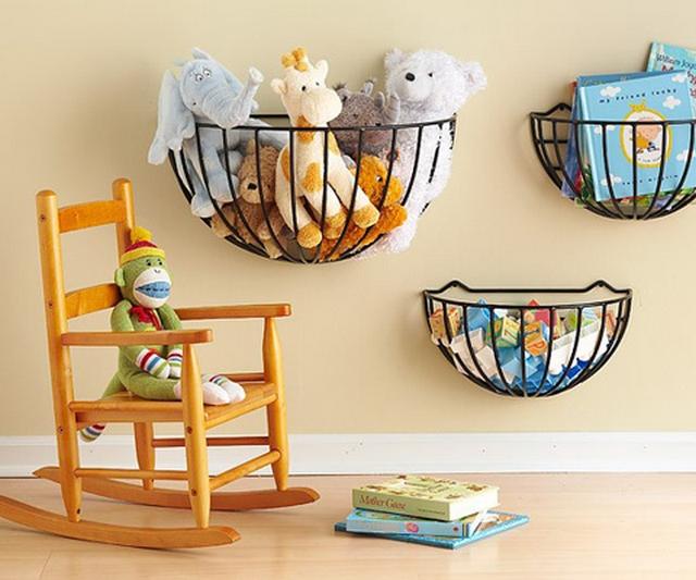 Ideas para organizar juguetes en habitaciones infantiles 3