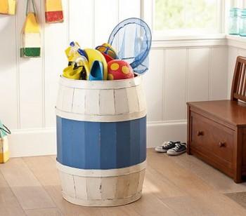 Ideas para organizar juguetes en habitaciones infantiles