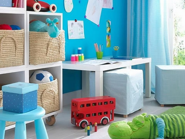 Ideas para organizar juguetes en habitaciones infantiles 5