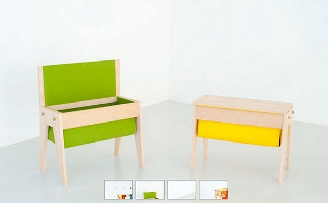 Muebles infantiles Felt & Gravity 2