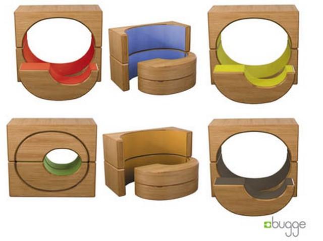 Muebles modulares Bugge para decoraciones infantiles 2
