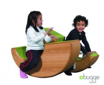 Muebles modulares Bugge para decoraciones infantiles