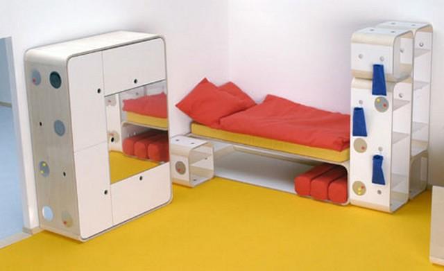 Muebles modulares ilo para habitaciones infantiles y juveniles - Habitaciones modulares juveniles ...