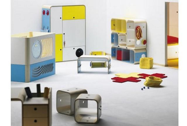 Muebles modulares Ilo para habitaciones infantiles y juveniles