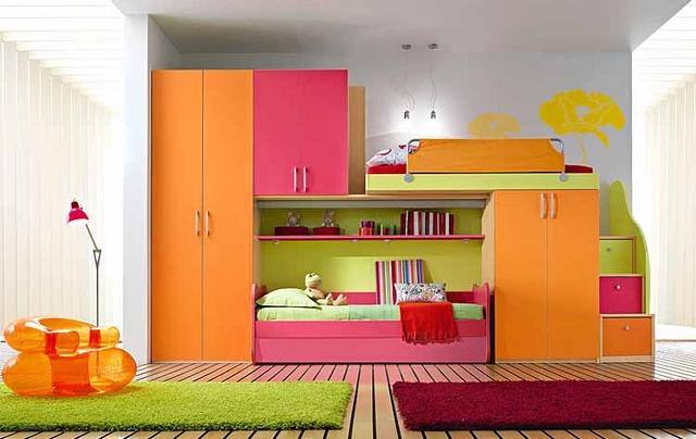 Muebles modulares para dormitorios infantiles 2