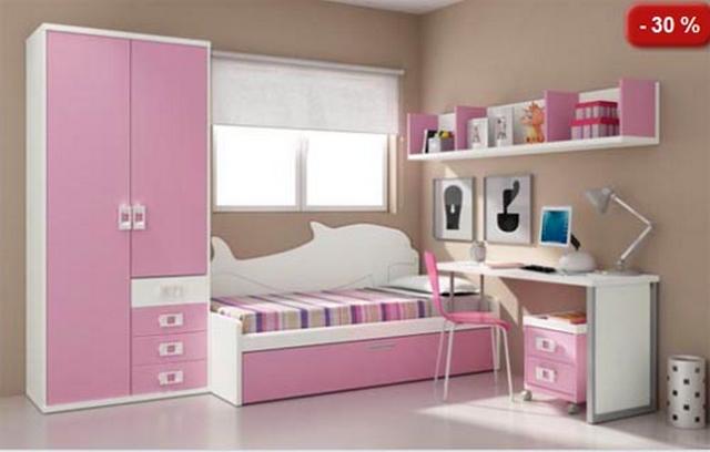 Muebles modulares para dormitorios infantiles for Muebles para dormitorios