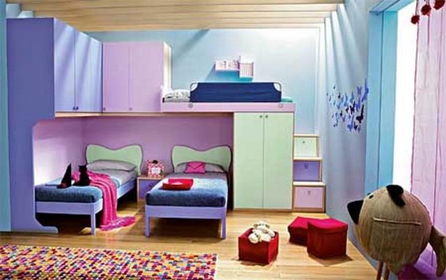 Muebles modulares para dormitorios infantiles - Habitaciones modulares juveniles ...