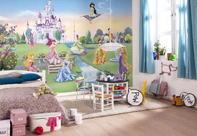 Murales infantiles de Disney 2