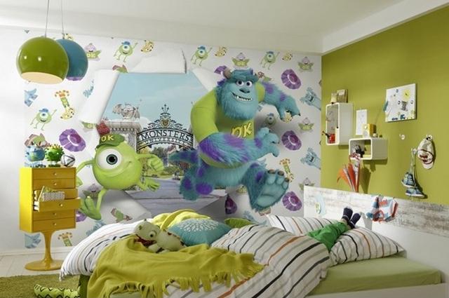 Murales infantiles de disney for Fotomurales infantiles para paredes