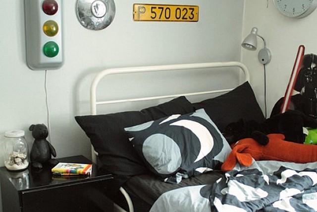Un dormitorio para hombre muy original 2