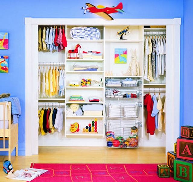 Armarios empotrados para el dormitorio de los niños 2