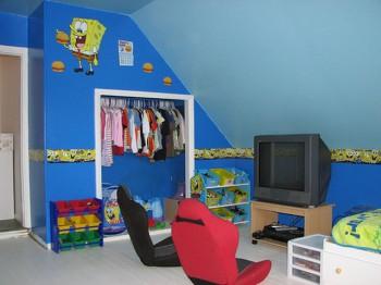 Armarios empotrados para el dormitorio de los niños