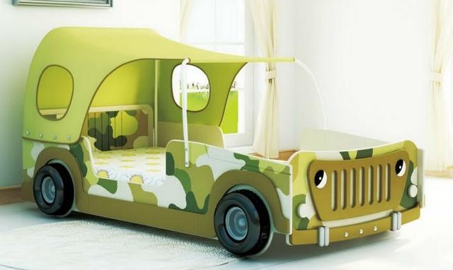 Cama Jeep para niños 2
