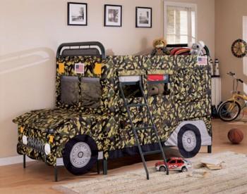 Cama Jeep para niños