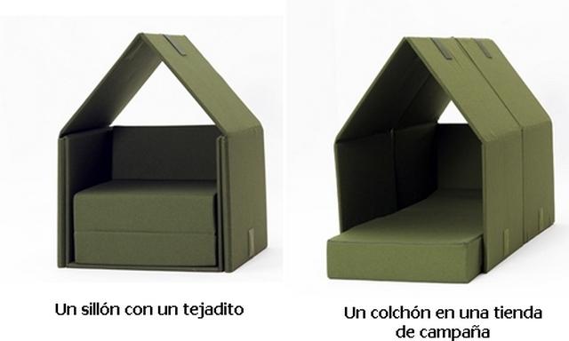 Cama - sillon para niños 2