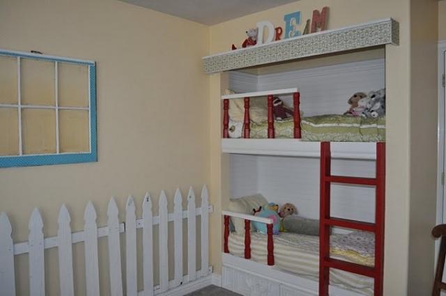 Camas infantiles empotradas - Cama empotrada en armario ...