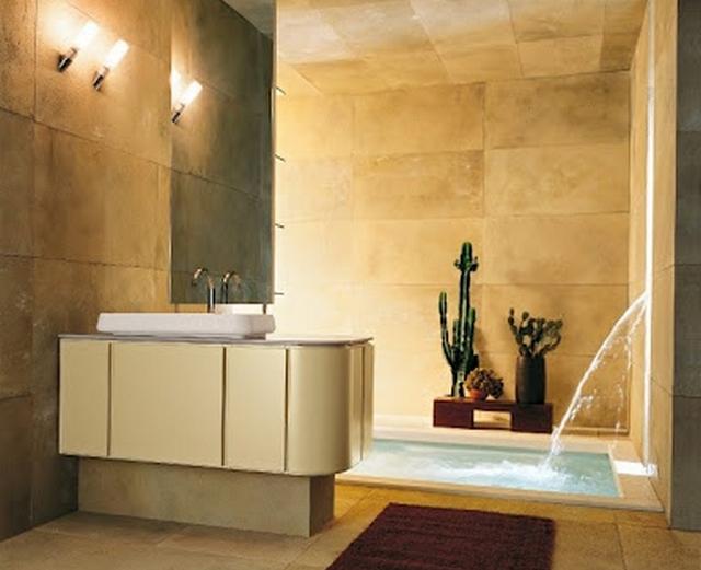 Decoracion de baño con cactus 3