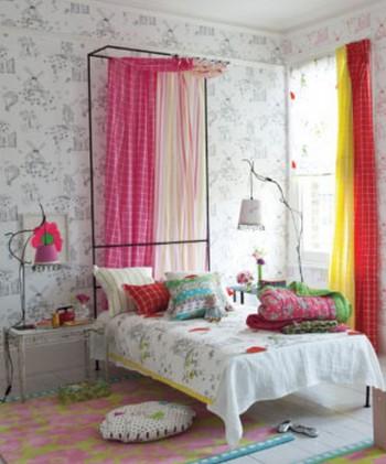 Decoraci n de dormitorios infantiles con cortinas - Decoracion cortinas dormitorio ...