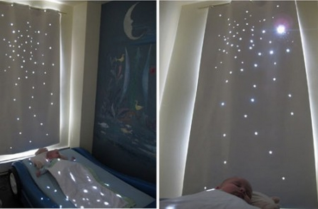 Decoracion de dormitorios infantiles con cortinas 4