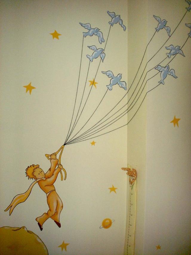 Decoracion dormitorio infantil tematica El Principito 3