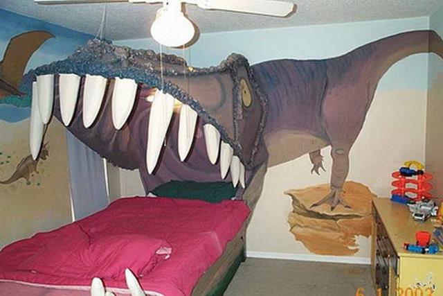 Decoracion dormitorio infantil tematica dinosaurio 5