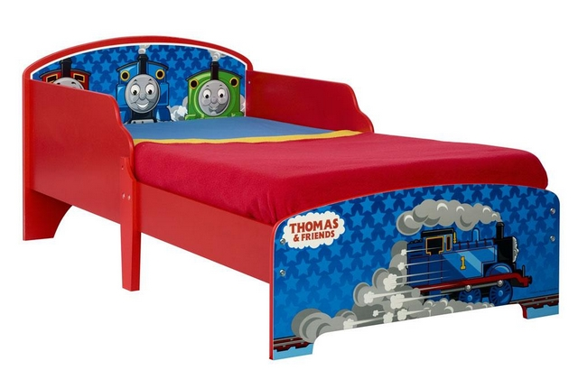 Decoracion dormitorio infantil tematica tren Thomas & Friend 1