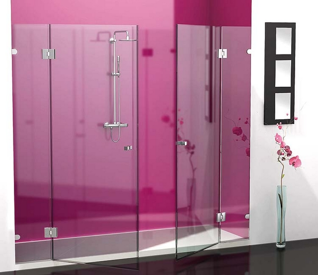 Decorar baño de color fucsia 5