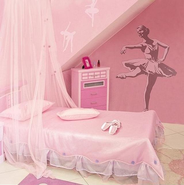 Dormitorios para niñas bailarina de ballet