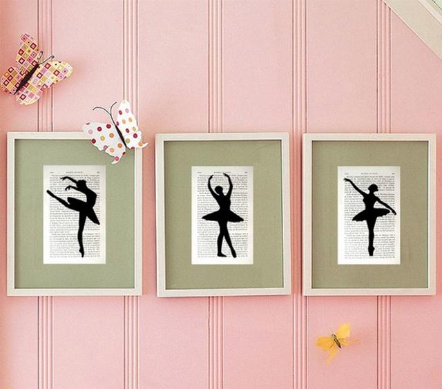Dormitorios para ni as bailarina de ballet - Cuadros para habitaciones de ninas ...