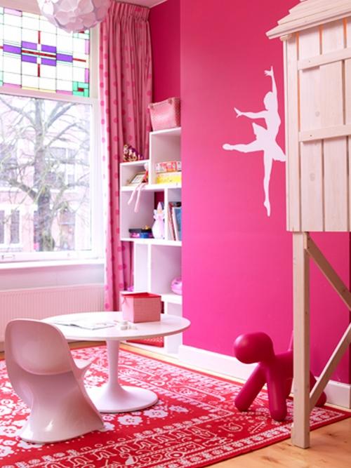 Dormitorios para ni as bailarina de ballet for Dormitorios para 4 ninas