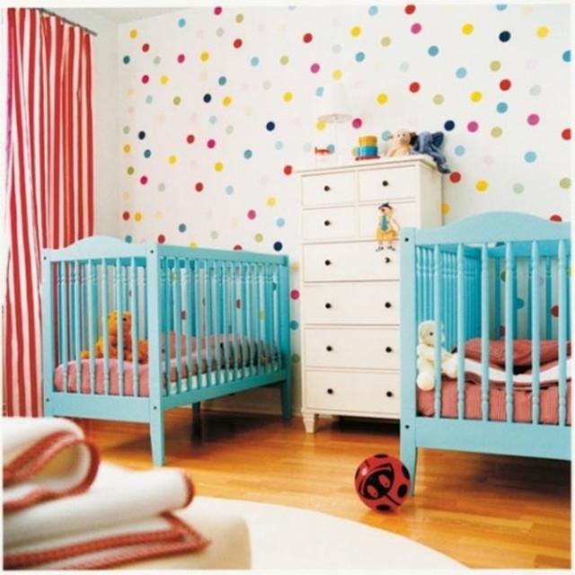 Estampados con lunares para decoraciones infantiles 2