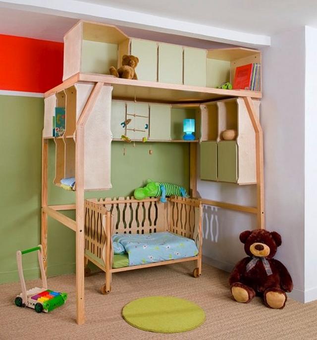 Popspace, camas que se adaptan al crecimiento del niño 2