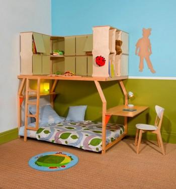 Popspace, camas que se adaptan al crecimiento del niño