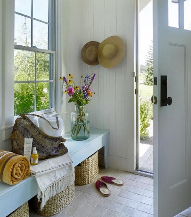 Recibidor de casa de campo - Fotos de recibidores de casas ...