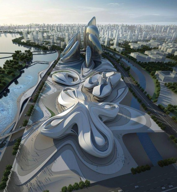 Reggio...! Un diseño de Zaha Hadid...