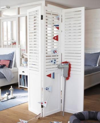 Separadores de espacios en habitaciones infantiles