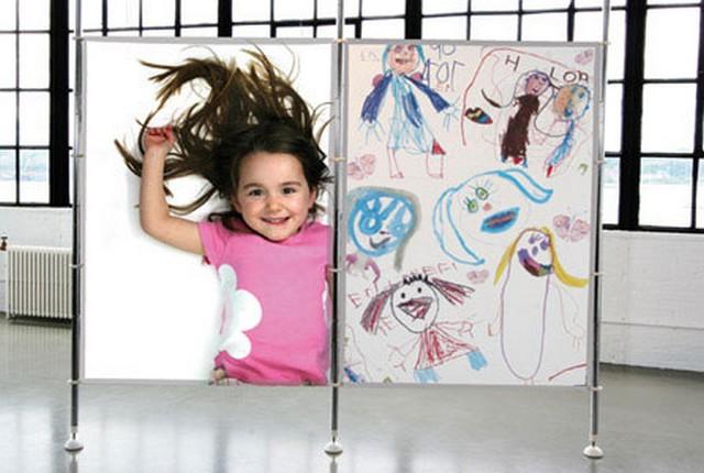 Separadores de espacios en habitaciones infantiles 4